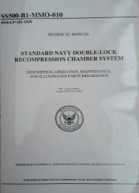 Image of STANDART NAVY DOUBLE-LOCK RECOMPRESSION CHAMBER SYSTEM